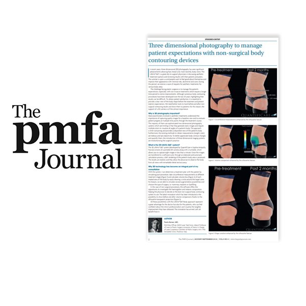 PMFA: Manage patient expectations using 3D photography -Prof Bonan