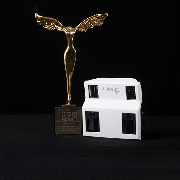 LifeViz® Mini: Winner of Best Aesthetic Device award